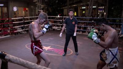Fight 3: Paul Jitti Gym VS. Parnkarw Sor.Poonswardid